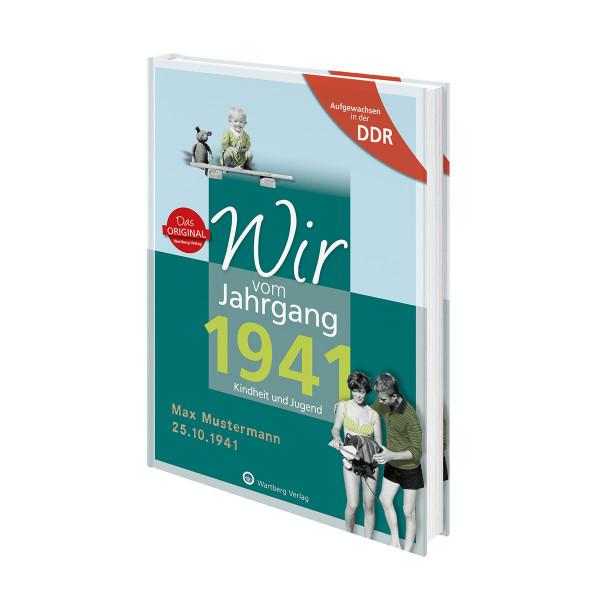 Personalisiertes Jahrgangsbuch DDR (1935 bis 1989)