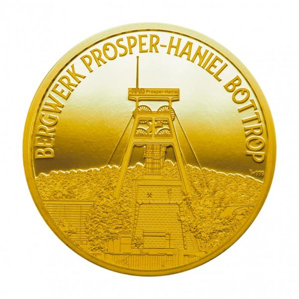 Sonderprägung Prosper Haniel - gold