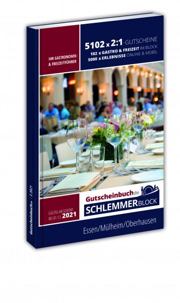 Gutscheinbuch.de Schlemmerblock Essen/MH/OB 2021