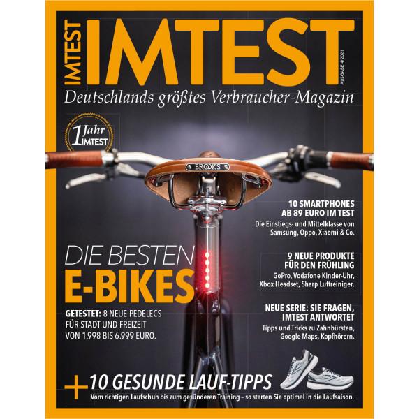 IMTEST E-Paper - Die besten E-Bikes 2021