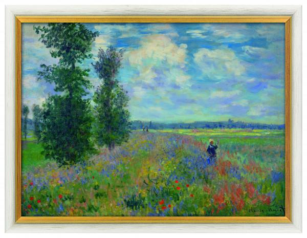 """Claude Monet: """"Das Mohnfeld bei Argenteuil"""", 1873"""