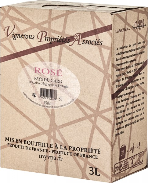 Rosé, IGP, Bag-in-Box, 3,0 l, Calvisson