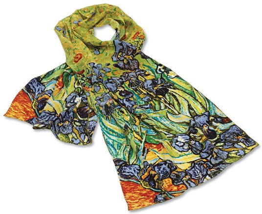 "Seidenschal ""Iris"" Vincent van Gogh"