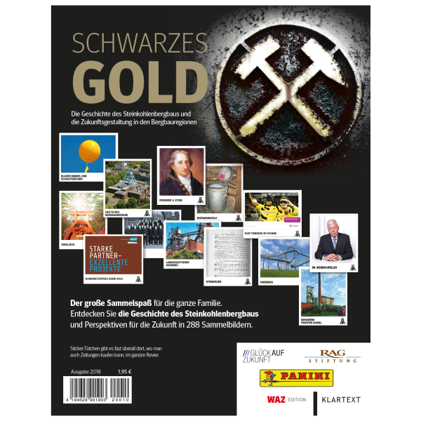 Panini Schwarzes Gold Album-Softcover