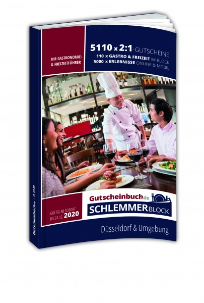 Düsseldorf 2020 Gutscheinbuch.de Schlemmerblock