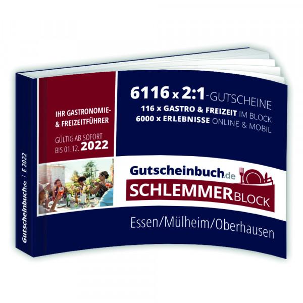 Gutscheinbuch.de Schlemmerblock Essen, Mülheim, Oberhausen 2022