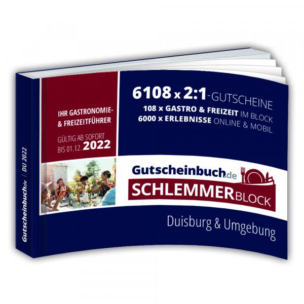 Gutscheinbuch.de Schlemmerblock Duisburg 2022