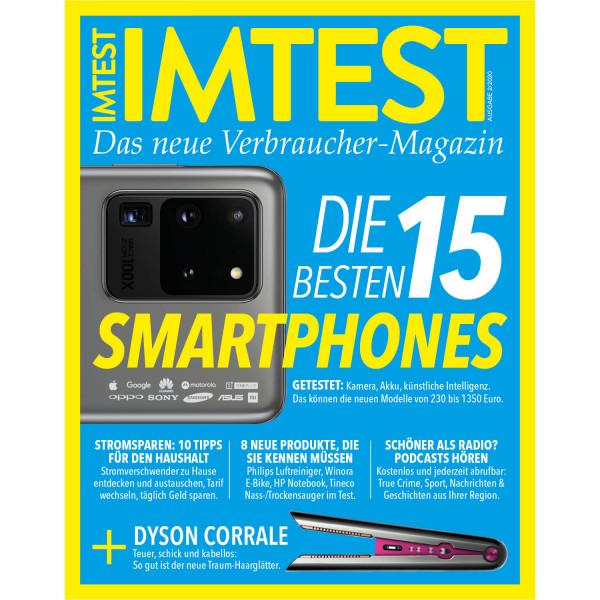 IMTEST E-Paper - Die 15 besten Smartphones 2020