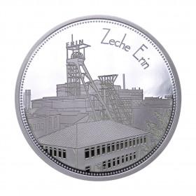 """Sammeledition """"Zechen im Ruhrgebiet"""" - Motiv 5 """"Zeche Erin"""" - Silber"""