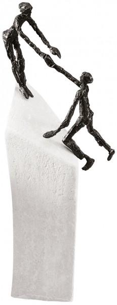 """Skulptur """"zu zweit geht's"""""""