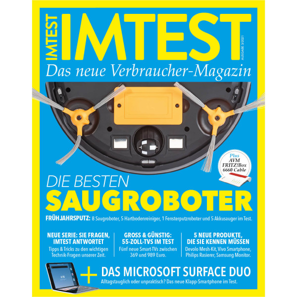 IMTEST E-Paper - Die besten Saugroboter 2021