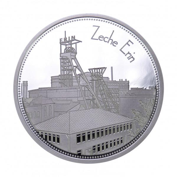 """Sammeledition """"Zechen im Ruhrgebiet"""" - 5. Motiv """"Zeche Erin"""" - Silber"""