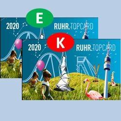 Ruhr.TopCard - ZweitCard-Aktion gemischt