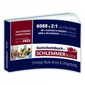 Gutscheinbuch.de Schlemmerblock Ennepe-Ruhr-Kreis 2022