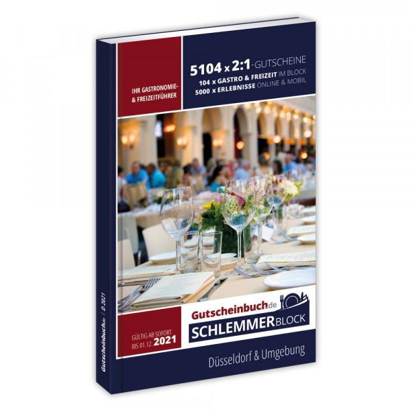 Gutscheinbuch.de Schlemmerblock Düsseldorf 2021