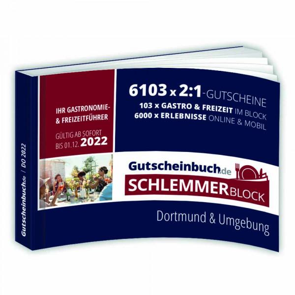 Gutscheinbuch.de Schlemmerblock Dortmund 2022